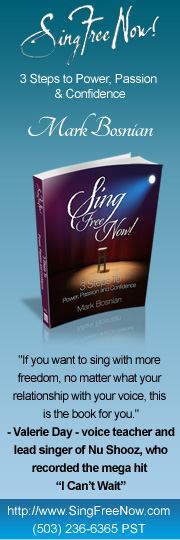 Sing Free Now! - Facebook Profile Graphic by Salyris Studios