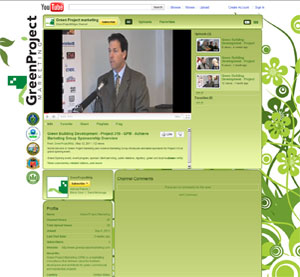 Green Project Marketing YouTube Design